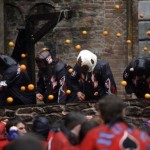 Battle of the Oranges Italy