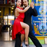 Tango dancing in Buenos Aires, Argentina