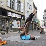 Aurillac International Street Theater Festival in Aurillac, France