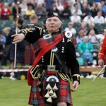 Highland Games Braemar Gathering in Scotland