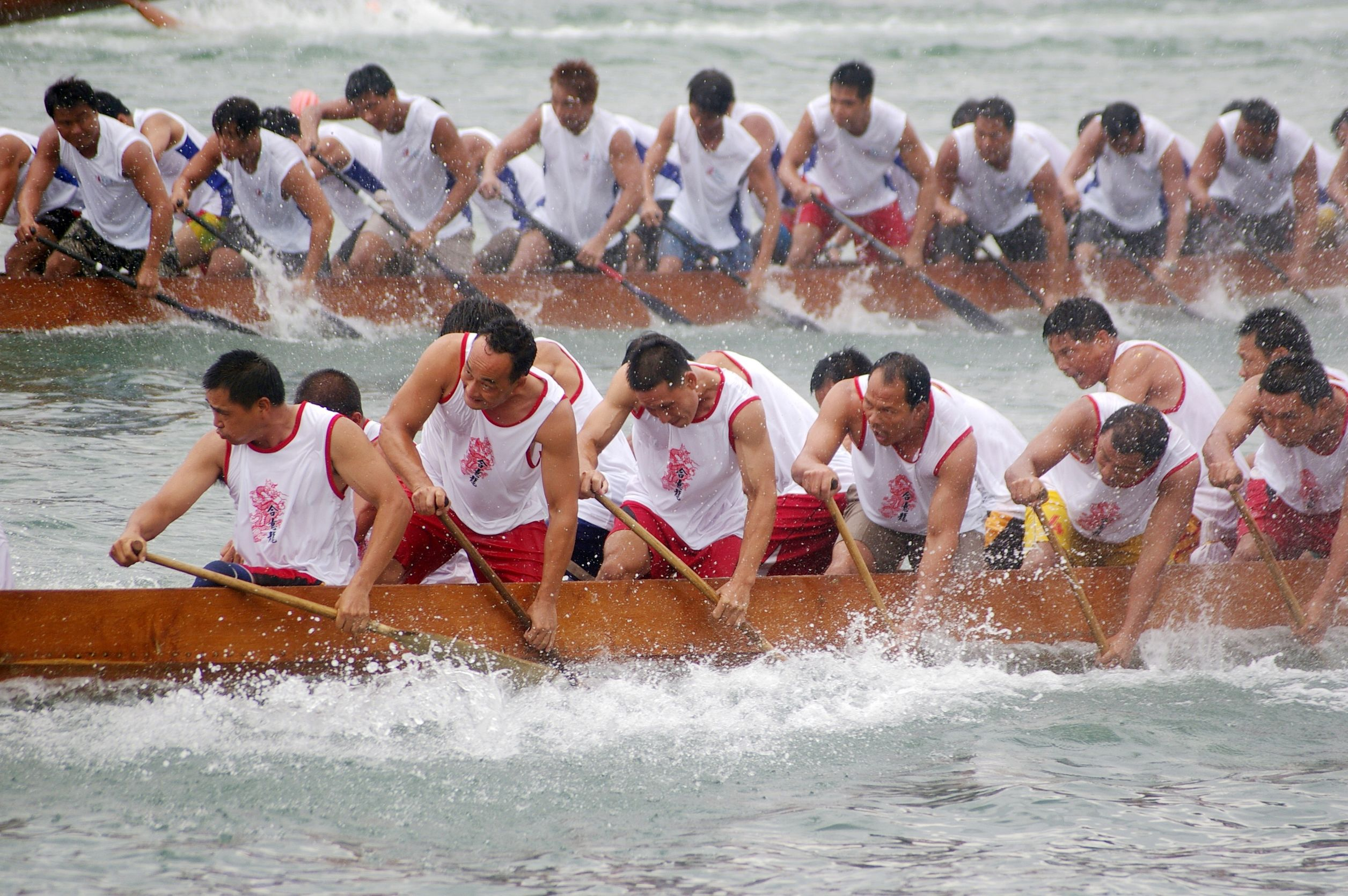 Dragon-boat-race-in-Tung-Ng-Festival-in ...