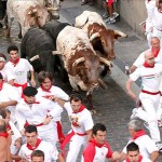 Running of the Bulls - Pamplona, Spain