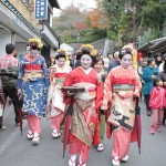 Jidai Matsuri Festival of the Ages in Kyoto, Japan