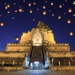 Yee Peng Festival in Chiang Mai, Thailand