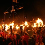 Up Helly Aa Fire Festival In Scotland