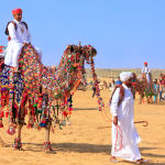 Desert Festival of Jaisalmer, India in February